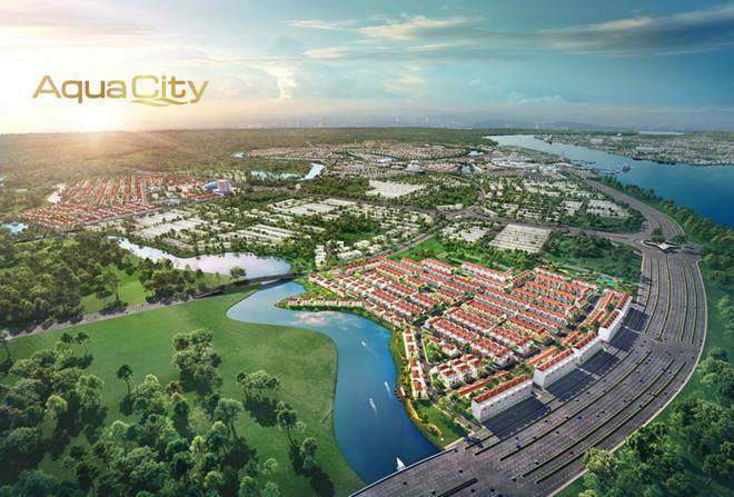 """Tọa lạc tại vị trí """"cửa ngõ"""" Aqua City, River Park 1 sở hữu giá trị tiềm năng sinh lời to lớn"""